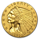$2.50 Quarter Eagles (Indian 1908 - 1929)